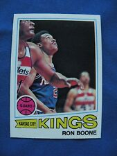 1977/78 Topps Ron Boone Kansas City Kings card #119 basketball $1 S&H