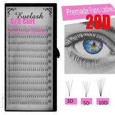 SKONHED 3D/5D/10D/20D Lashes Premade Volume Fans Permanent Individual Eyelashs