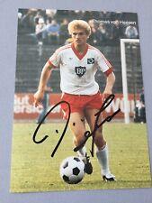 THOMAS VON HEESEN HSV  original signed ältere Autogrammkarte 10 x 15
