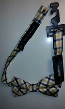 New Tommy Hilfiger Bow Tie Jamestown Multi Gingham