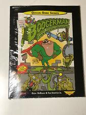 Boogerman A Pick and Flick Adventure Sega Genesis official game secrets book NEW