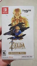 Legend of Zelda Breath of the Wild Expansion Pass Display Switch Promo Case
