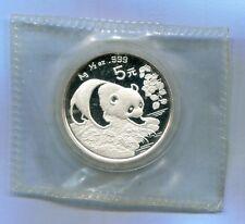 China 1994 Silver 1/2 Oz Panda Coin