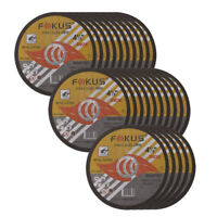 25 Pack Ultra Thin Disc 4-1/2'' x 1/16'' Metal & Stainless Steel Cut Off Wheels
