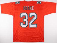 Kenyan Drake Signed Dolphins Orange Throwback Jersey (JSA) Miami #1 Running Back