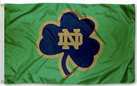 Notre Dame FLAG 3X5 Fighting Irish Football New Fast USA Shipping