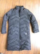 Kenneth cole DOWN womens jacket coat S long parka commuter black quilted winter