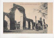 Iron Pillar & Great Arch Kutab Delhi India Vintage Postcard 227b