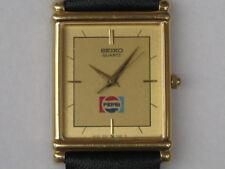 Seiko Pepsi 9021-5270 Square Type Used Quartz Mens Authentic Watch Japan F/S