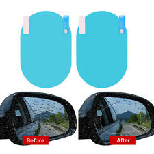 2PCS/Set Car Anti Fog Rainproof Mirror Window Clear Film Anti-glare Waterproof