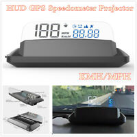 G3 Car HUD Head Up Display GPS Speedometer Projector Overspeed Alarm KMH/MPH