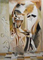 "Cinderella: oil painting on canvas panel (19"" x 27"")"
