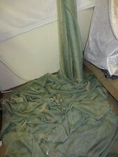 """1M  CATIONIC TWO TONE GREEN CHIFFON   SOFT  DRESS CHIFFON FABRIC 58"""" WIDE"""