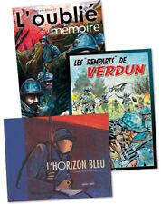 """Pack """"bandes dessinées"""" de la Première Guerre mondiale (3 livres)"""
