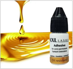 XXL Lashes Adhesive - erster ölresistenter, sensitiver Wimpernkleber - schwarz