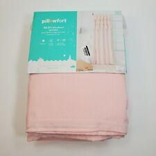 "Pillowfort Ruffle Blackout Curtain Panel Pink 34"" x 95"""