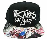 size 40 05a31 fb784 Batman - Suicide Squad - Joker - Harley Quinn - Jokes On You Snapback Hat  Cap