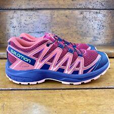 SALOMON Xa Pro 3D Trail Running Shoes Cerise / Dubarry / Peach Amber Size 4