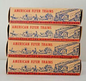 Vtg. AMERICAN FLYER TRAINS EMPTY BOXES EXCELLENT!