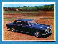 AUTO FLASH - Ed.COX - Figurina/Sticker n. 94 - BENTLEY T -New