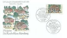 Germany 1983 FDC 1186a J Wichern Missionary Theologian
