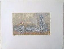 Jean Luc Le Floch gravure série Variation P 855
