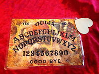 Bizarre Magic Old Man Ouija Board laminated sheet + Planchette Fortune Weeja
