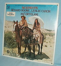 LP FACTORY SEALED Soundtrack MADRON Riz Ortolani RICHARD BOONE/LESLIE CARON