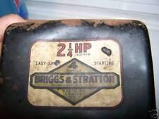 Briggs & Stratton engine decals Lil Indian 2-1/4hp Set