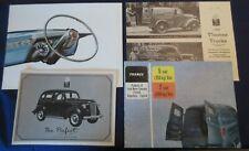 4 Ford Thames Truck & Car Uk Market Sales Brochure Anglia Prefect 1949 & 1959