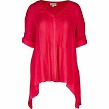 Autograph Viscose Button Down Shirt Casual Tops & Blouses for Women