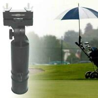 Golf Club Regenschirmhalter Ständer für Fahrrad Buggy Cart Kinderwagen Roll Q9N5