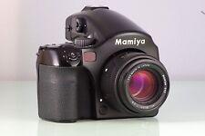 CLASSIC MAMIYA SLR 645 AFD + 80mm AF 120 + AE FINDER CLA SERVICED TESTED
