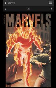 Marvels #1 Marvel NFT Low Mint #14615 Veve Digital Comic Collectible Alex Ross
