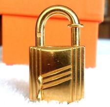 Hermes Cadena Annee Arbre Gold Lock*Charm*Pendant For Birkin*Kelly*Bolide*Bag