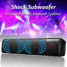 Bluetooth Home Theater TV Soundbar Speaker System Stereo Subwoofer TF/USB/AUX/FM