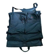 Tumi Alpha 3 233D3 Black Bi-Fold Deluxe Suit Garment Bag Carry-On Authentic