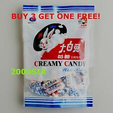 White Rabbit Creamy Candy Milky Chewy Sweets  6.3 oz 180g ~ Buy 3 get one FREE