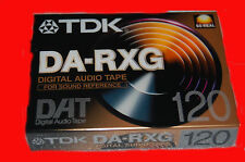 TDK DA-RXG 120 DAT Tape DIGITAL AUDIO TAPE