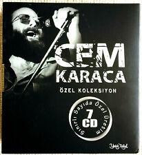 CEM KARACA Özel Koleksiyon 7x CD Boxset Limited Edition
