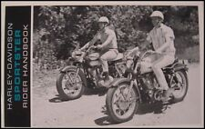 1966 Harley-Davidson Sportster Original Rider Handbook Owner's Owners Manual