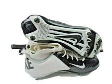 Nike Lunar Super Bad Pro Football Cleats Men's Size 14 White/Black