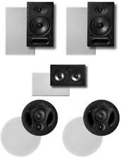 Polk Surround System: Pair of 65rt, One 255crt in-wall front, Pair 70rt in-ceili