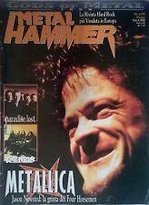 METAL HAMMER N°6 99 METALLICA PARADISE LOST KREATOR GODS OF METAL