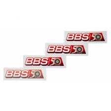 4x BBS Aufkleber Felgen (22x72 mm) Sticker Logo Auto Tuning Optik Styling Decal