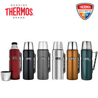NEW Thermos Stainless King S/Steel Vacuum Insulated Flask 1.2L Free Post Save