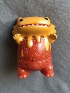 Baby Byron Orange Glitter Vinyl Artist Gacha VAG Shoko Nakazawa Medicom Art Toy