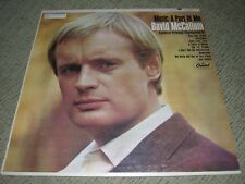 "DAVID McCALLUM (VG+) 1966 Music A Part Of Me (EX) 12"" Capitol Jazz LP T2432"