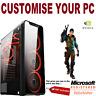 FAST i3 i5 i7 Gaming Computer PC 2TB + SSD 16GB RAM GTX 1660 Win10,6 Fans