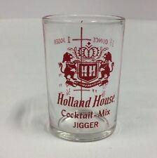 Holland House Cocktail Mix Jigger Measuring Bar Glass PreownedKitchen.com